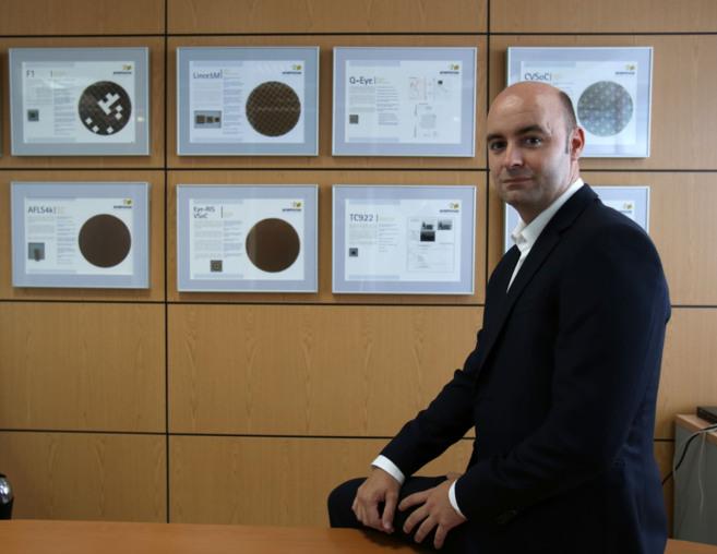 Rafael Romay, general manager de la empresa AnaFocus y primer empleado...