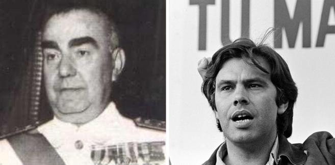 Carrero Blanco (izda.) y Felipe González.