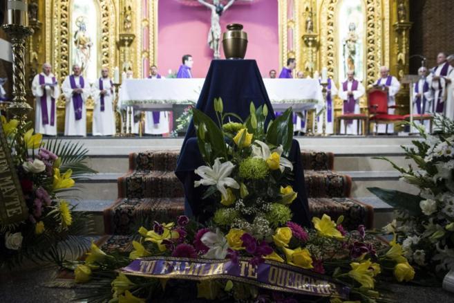 Las cenizas de García Viejo presiden la capilla del Hospital San...