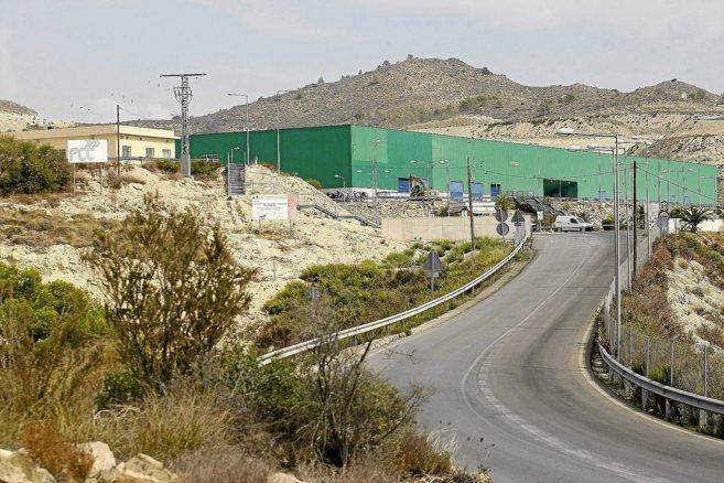 El basurero de El Campello, que da servicio a Las Marinas.