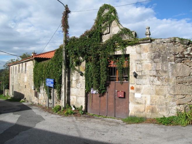 Imagen del Pazo del Chaioso, en Ourense.