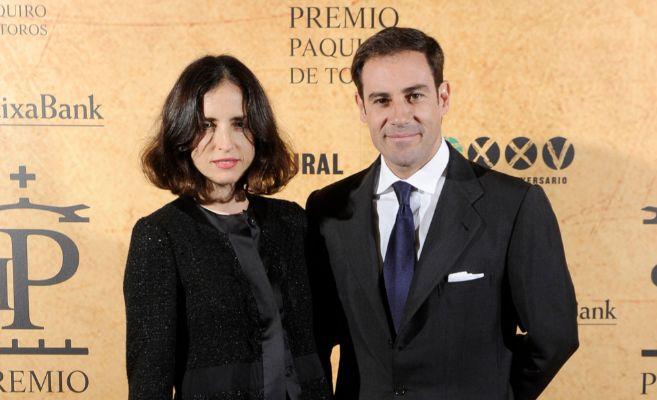 Miguel Báez 'El Litri' y su esposa, Adriana Carolina...
