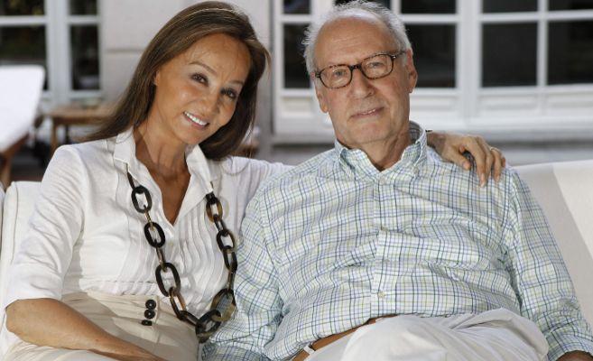 Isabel y Miguel, en una de sus últimas imágenes juntos.