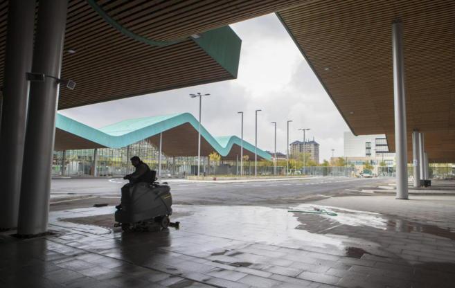 La nueva estación de autobuses de Vitoria.