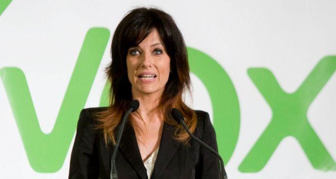 La dirigente de Vox y previsible candidata a la Alcaldía de Valencia,...