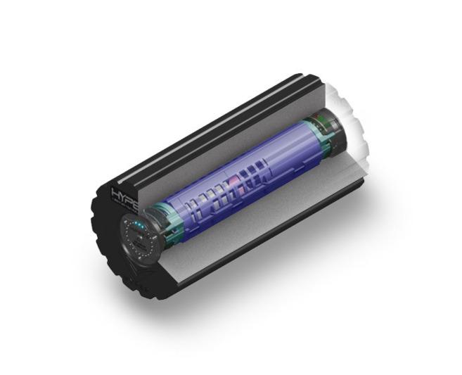 El dispositivo Vyper que combina presión y vibración.