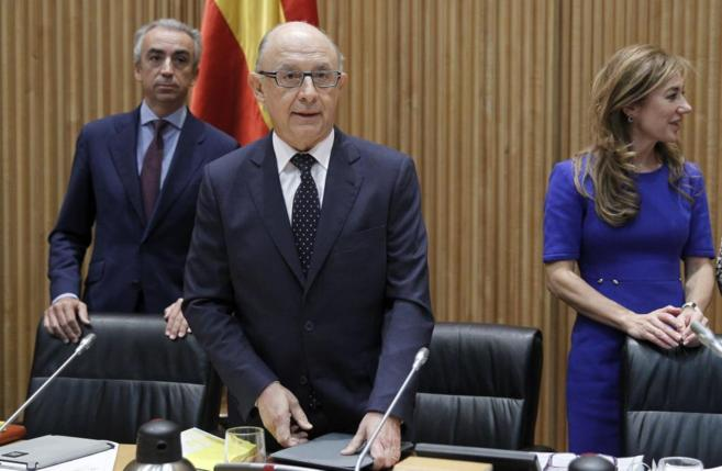 El ministro de Hacienda y Administracione Públicas, Cristóbal...