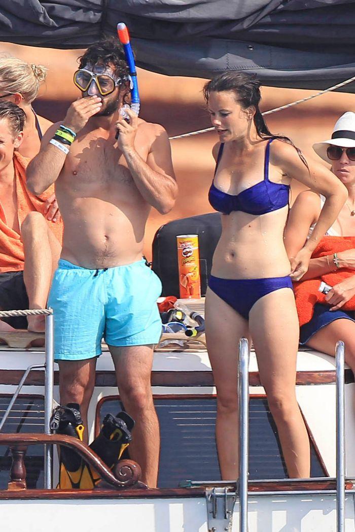 Las vacaciones del año pasado de la pareja fueron en Ibiza.