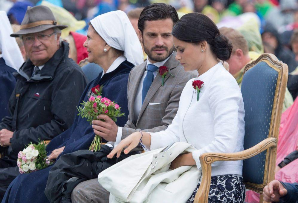 Sofia participó en su primer acto oficial como prometida de Carlos...