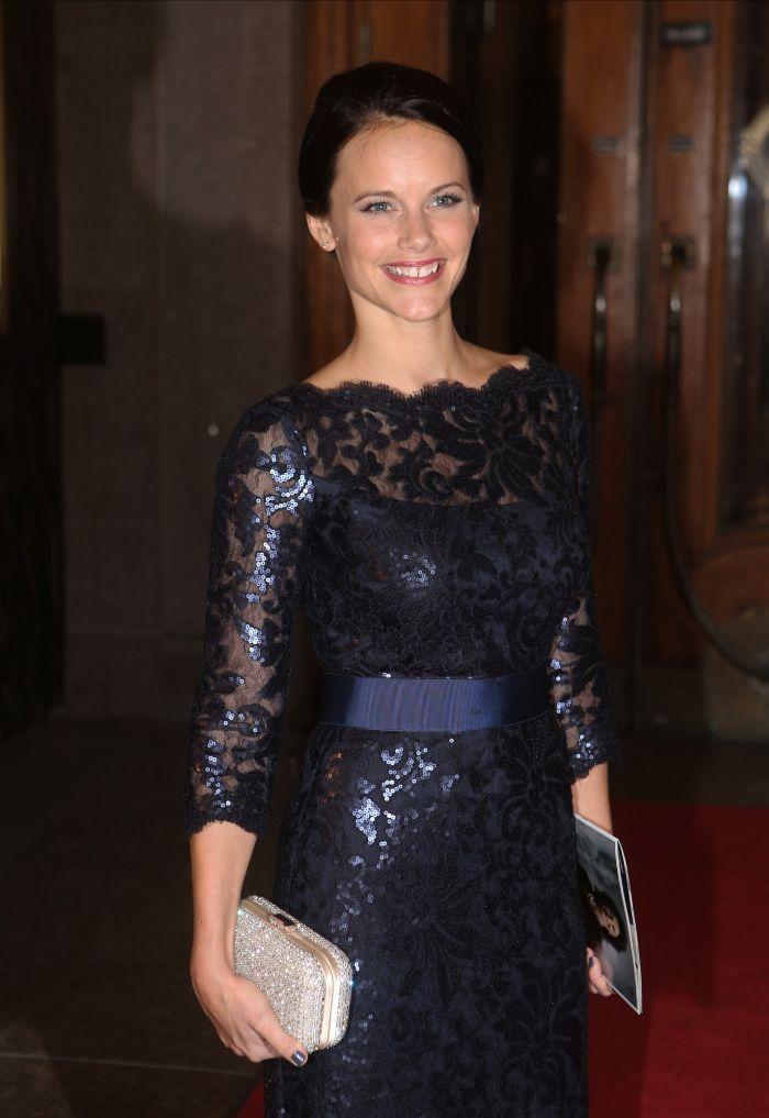 En diciembre de 2013, en el 70 cumpleaños de la reina Silvia.