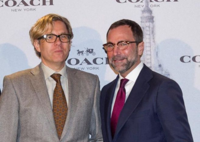 James Costos y su pareja, el interiorista Michael S. Smith