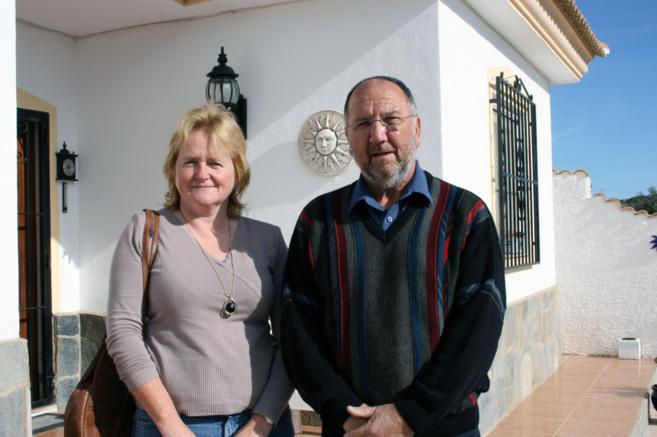 Maura Hillen y Mike Phillips, presidenta y vicepresidente de Auan, la...