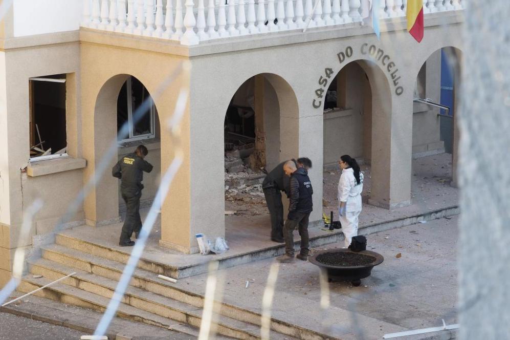 Así ha quedado el Ayuntamiento de Baralla (Lugo) tras la expulsión...