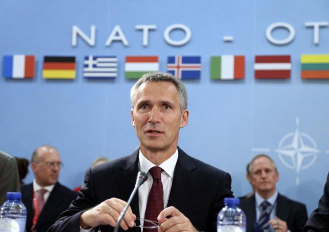 El nuevo secretario general de la Alianza Atlántica, Jens...