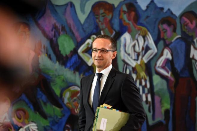 Imagen del Ministro de Justicia alemán, Heiko Maas.