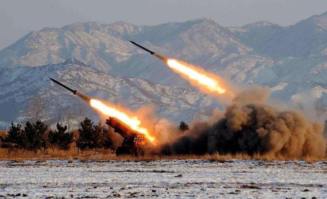 Lanzamiento de misiles en Corea del Norte en 2009