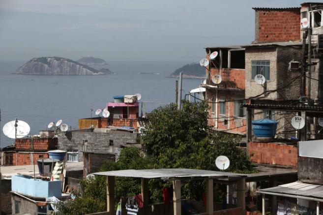 Imagen de la favela de Vidigal, en Río de Janeiro
