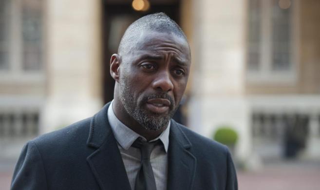 El actor británico Idris Elba, participante en la conferencia de...