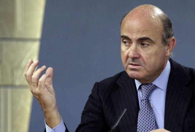 El ministro de Economía, Luis de Guindos. (EFE)