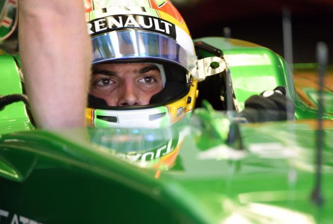Merhi, en el primer entrenamiento libre para el Gran Premio de Japón