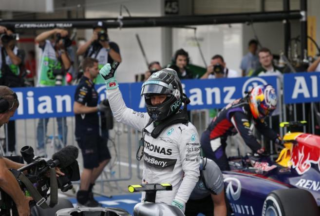Rosberg, en Suzuka