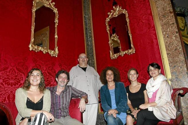 Pepi González, Joan Porcel, Rafel Duran, Lluqui Herrero, Maria...