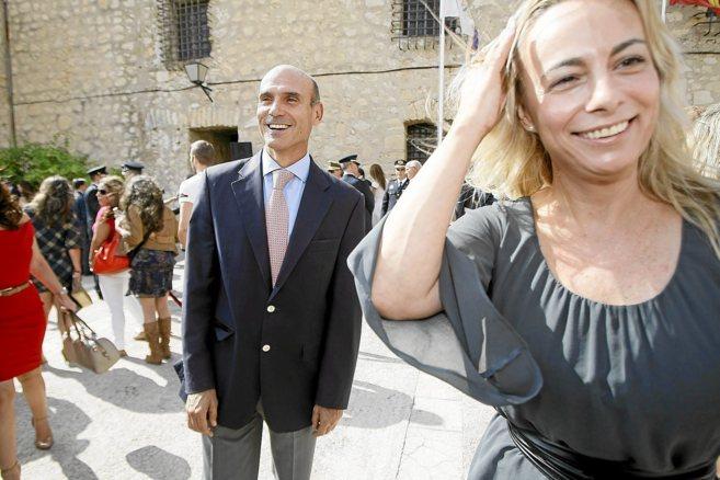 Sonia Castedo en el Día de la Policía Nacional celebrado en el...