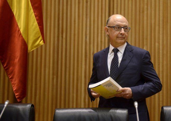 El ministro de Hacienda, Cristóbal Montoro, en una imagen reciente