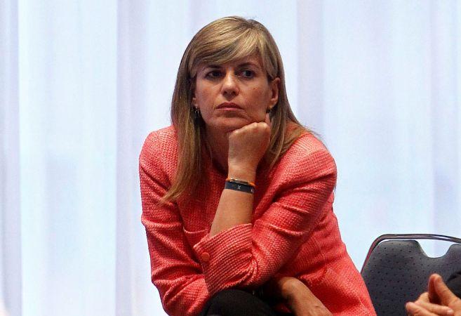 La consellera de Bienestar Social, Asunción Sánchez Zaplana, durante...