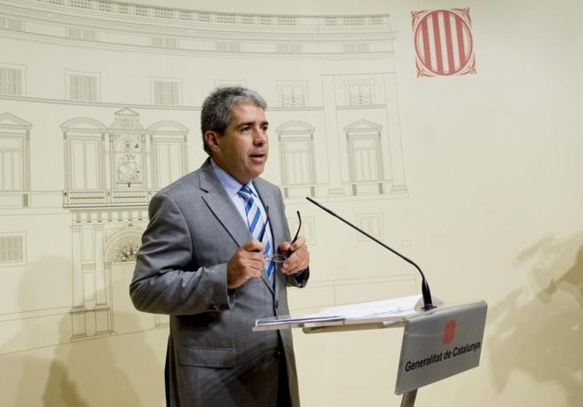 El Conseller de la Presidencia de la Generalitat de Catalunya,...