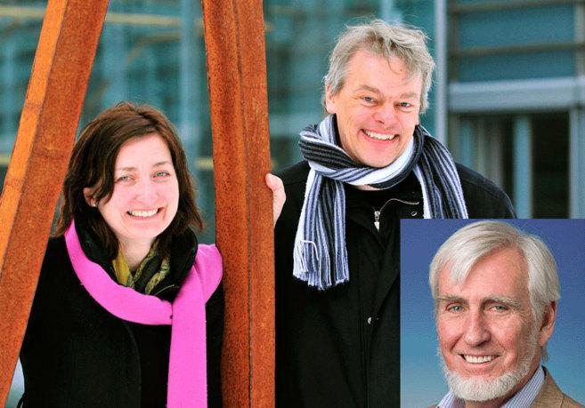 May-Britt y Edvard Moser, directores del Instituto de Neurociencias...