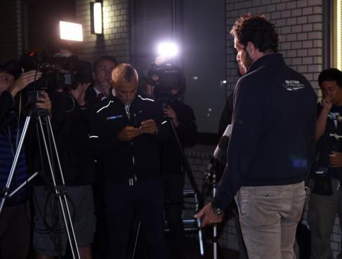 Matteo Bonciani, portavoz de la FIA.