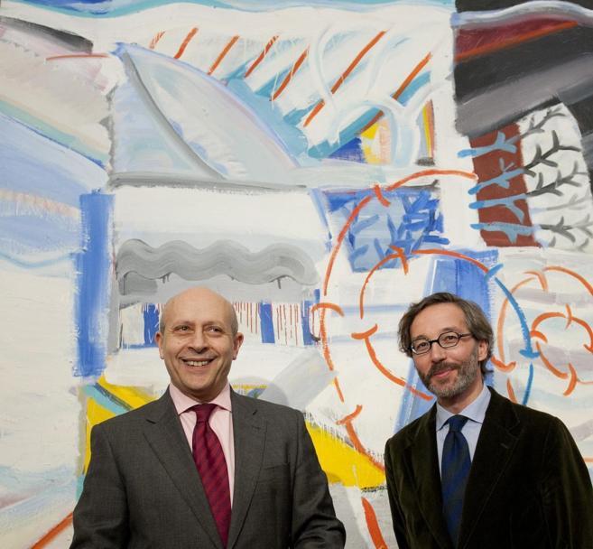 El ministro de Educación, Cultura y Deporte, José Ignacio Wert, y el...