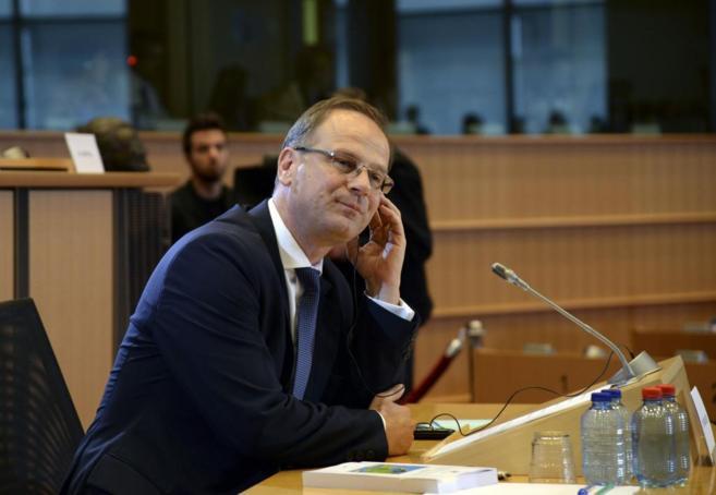 El candidato a la cartera de Educación, el húngaro Tibor Navracsics,...