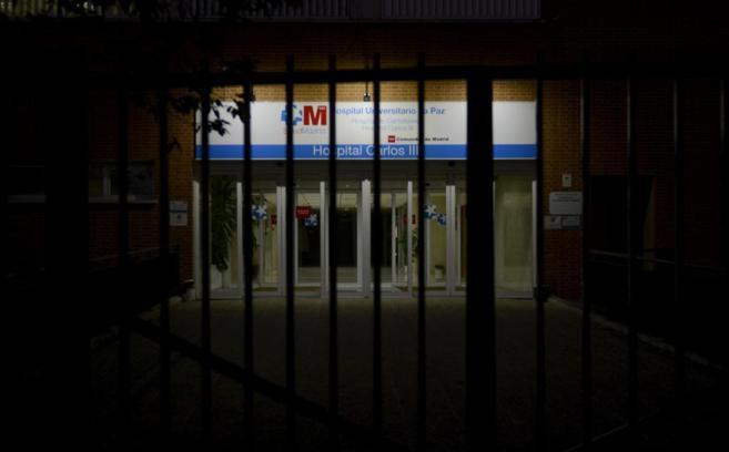 Fachada del hospital universitario Carlos III de Madrid.