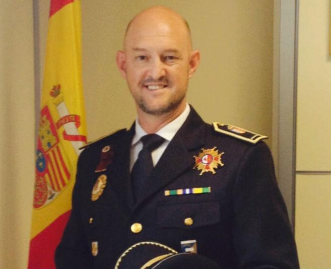 Francisco Caletrio Villa, inspector jefe de la Policía Municipal de...