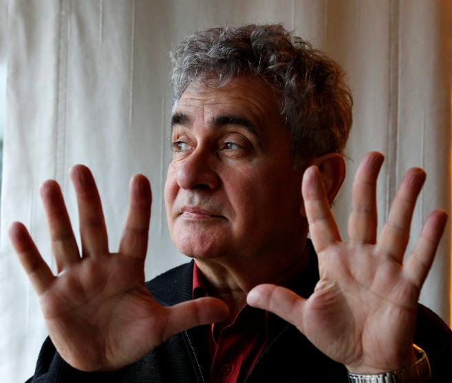 El escritor Bernardo Atxaga.