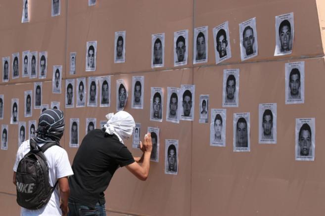 Fotografías de los 43 estudiantes desaparecidos