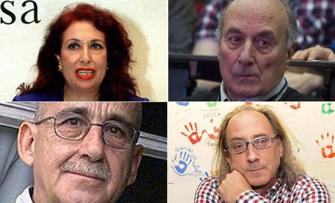 Lidia Falcón, Francisco Frutos, José Sánchez Sinisterra y Ramon...