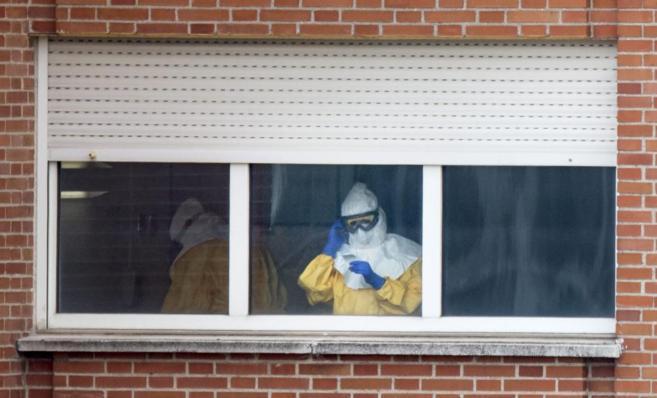 ebola hospital carlos III