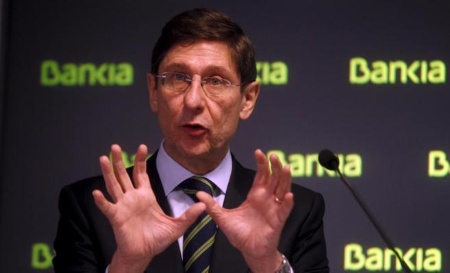 El presidente de Bankia, José Ignacio Goirigolzarri.