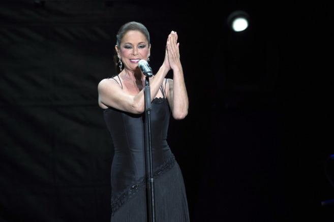 Isabel Pantoja, en un concierto.