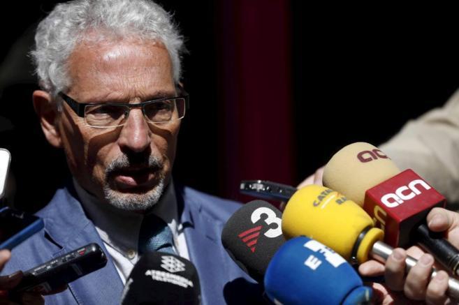 Santiago Vidal, tras declarar en Madrid el pasado mayo.