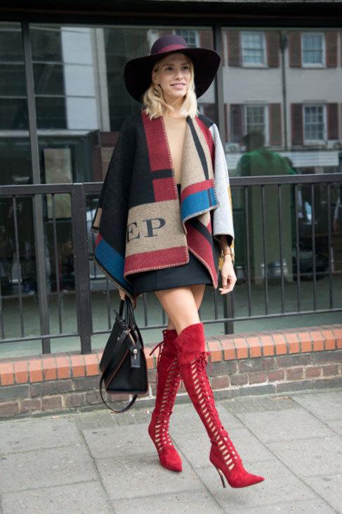 La modelo Elena Perminova el pasado mes de septiembre, en Londres.
