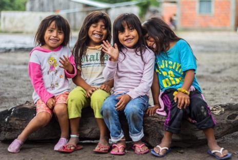 'Alegría', fotografía de Nathalia Aguilar que ha ganado el concurso 'Por ser niña'