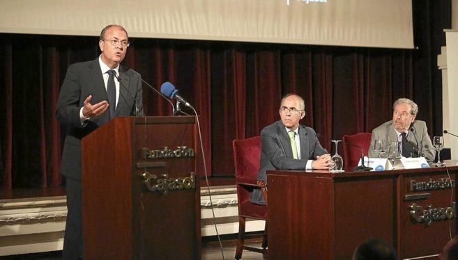 El presidente de Extremadura, José Antonio Monago, este jueves...