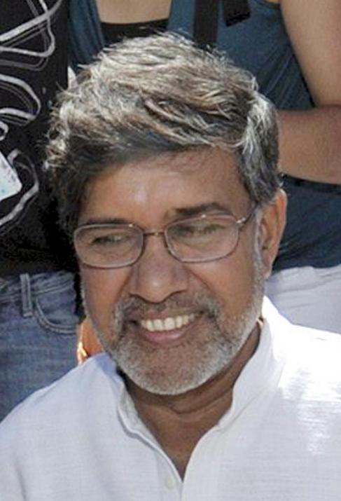 Kailash Satyarthi, presidente de la Marcha Global contra el Trabajo...