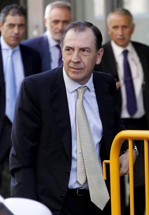 Ildefonso Sánchez Barcoj, ex director general de Caja Madrid.