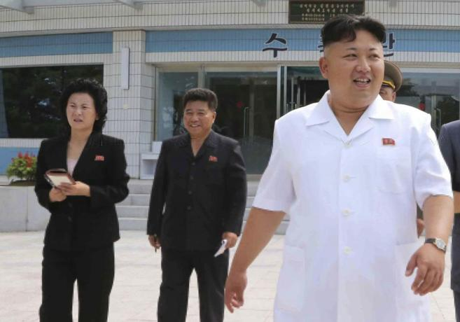 Fotografiada del líder norcoreano, sin fechar, facilitada por el...