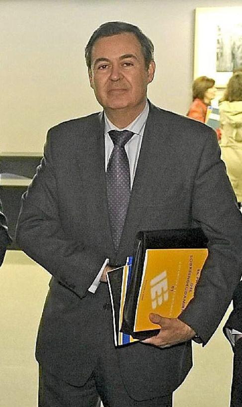 El director general de Ineca, Juan Emilio Iranzo, en imagen de...